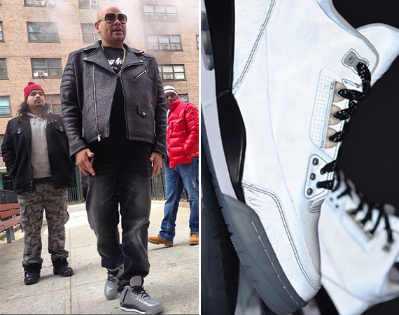 Fat Joe Showcases Air Jordan 3 5Lab3