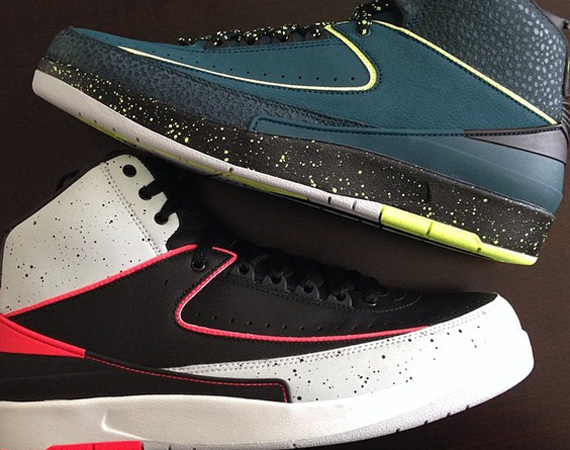 Fat Joe Showcases Two New Air Jordan 2 Colorways
