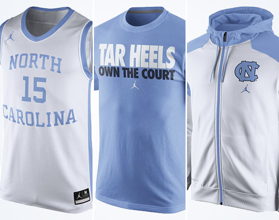 Jordan Brand Celebrates UNC Tournament Appearance with Tar Heels Collection on Nikestore