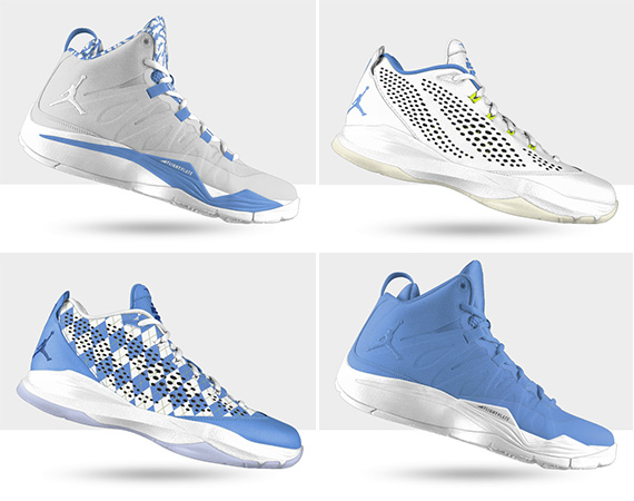 NiKEiD CP3.VII + Super.Fly 2 for UNC Senior Night   Available