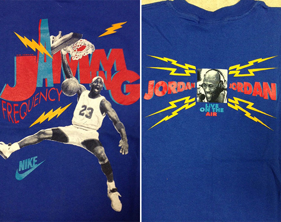 Vintage Gear: Air Jordan Jamming Frequency GS T Shirt