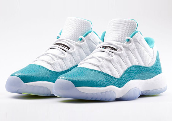 2  New Air Jordan 11 Low Retro Releases for April 2014