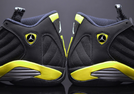 Air Jordan 14 Retro: Thunder   Detailed Images