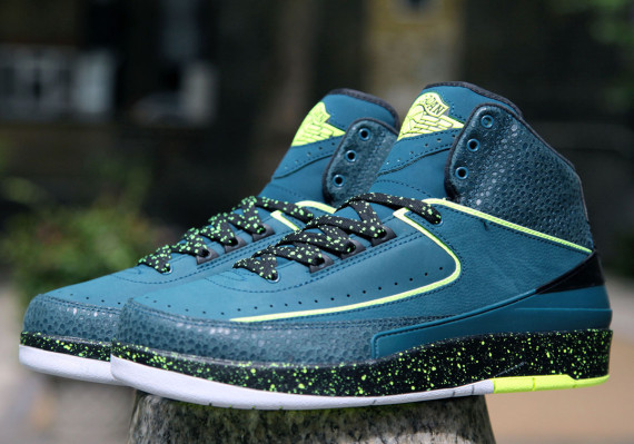 """finest selection 75ddd 8899f The Air Jordan 2 """"Nightshade"""" will arrive at European retailers this  Saturday, April 26th, 2014. The Air Jordan II has seen quite the resurgence  in 2014 ..."""