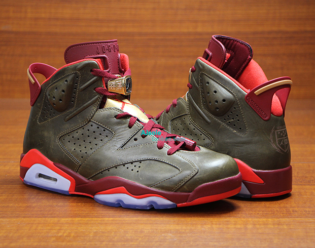 huge discount c27be 447e3 ... The 23rd anniversary of the Air Jordan 6 gave Jordan Brand the freedom  to hit the ...