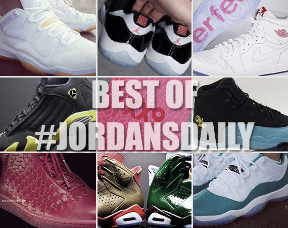 Best of #JordansDaily on Instagram   April 14th, 2014