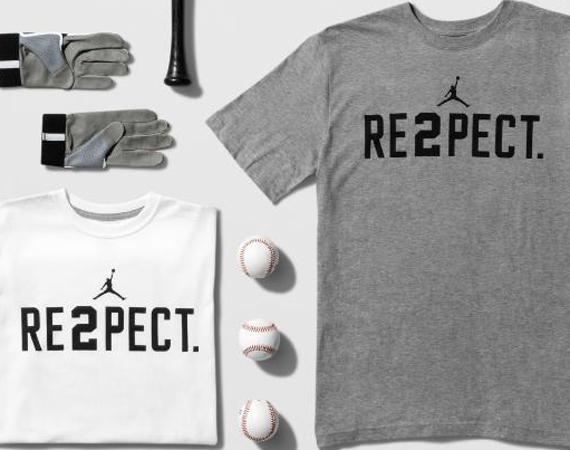 Jordan Brand RE2PECT Derek Jeter T Shirt