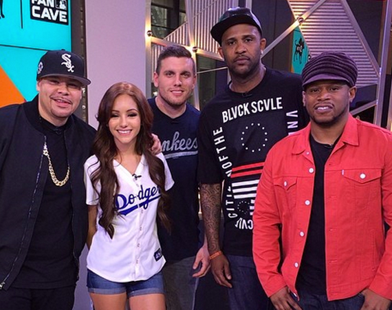Fat Joe, Sway & CC Sabathia Showcase New Air Jordan Retros