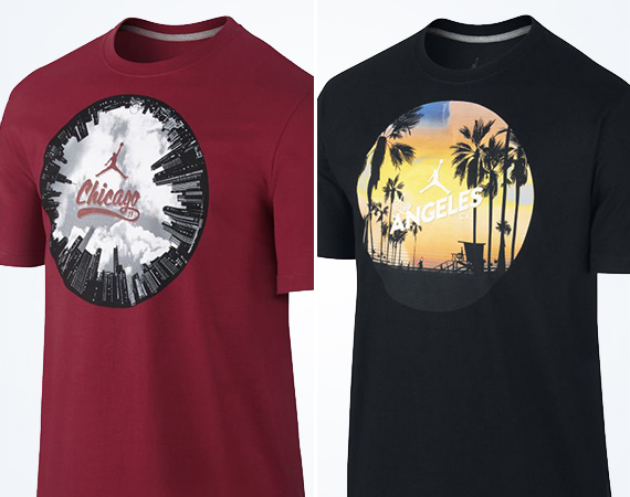 Jordan AJ1 City Pack T Shirts