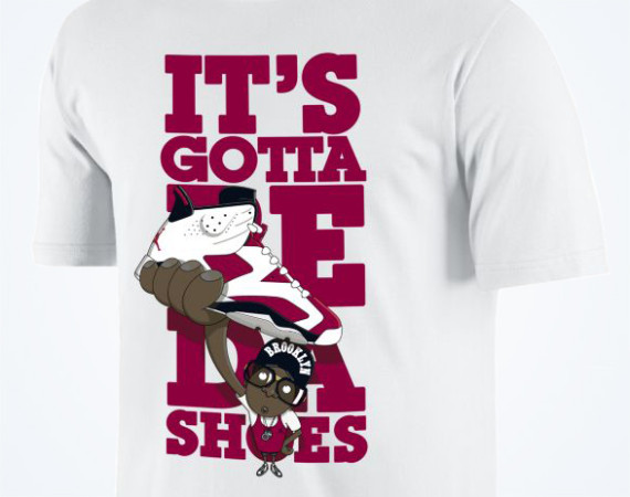 Jordan Its Gotta Be Da Shoes T Shirt