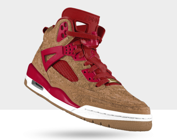 The Cork Option Arrives for the Jordan Spizike on NIKEiD
