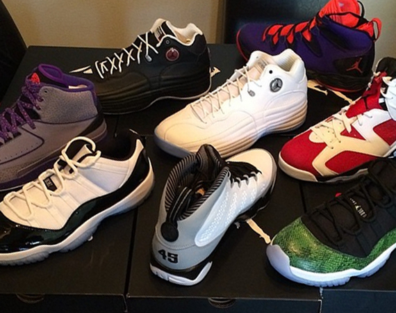 Kendall Marshall Showcases Upcoming Air Jordan Retros