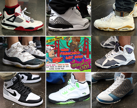 Sneaker Con San Francisco April 2014: On Feet Recap