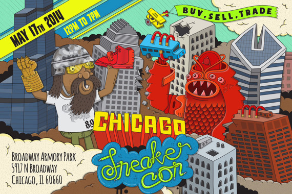 Sneaker Con Chicago: Saturday May 17, 2014
