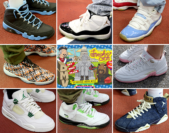 Sneaker Con DC/DMV April 2014: On Feet Recap