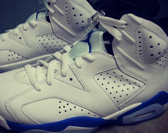 Air Jordan 6: Sport Blue   More Images