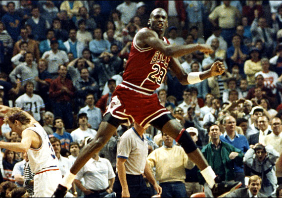 Today is the 25th Anniversary of Michael Jordans Shot over Ehlo