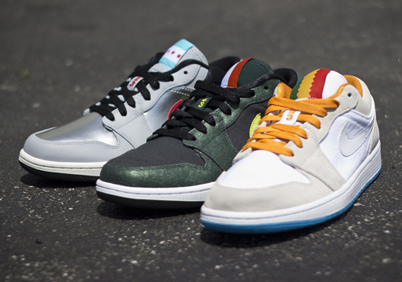 Air Jordan 1 Low: City Pack