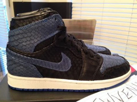 Air Jordan 1: Royal Python by JBF Customs   Available on eBay