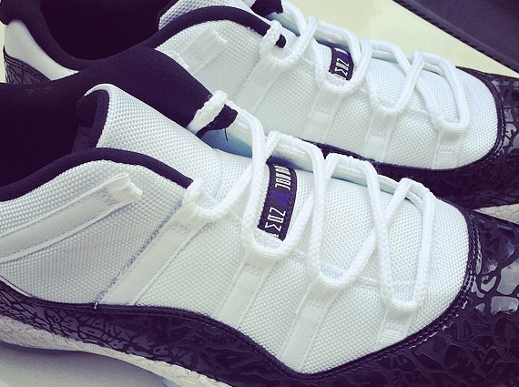 Chi McBride Shows Off Air Jordan 11 Low Concord Laser