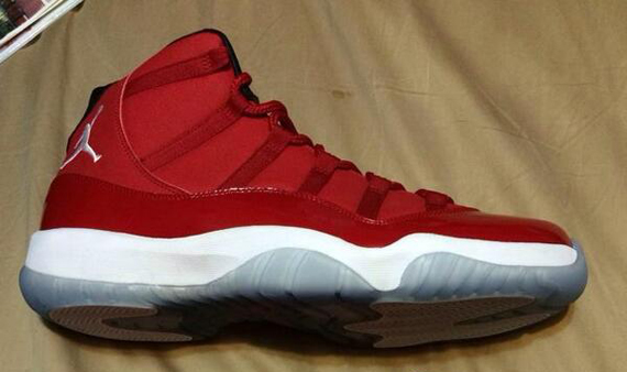 best website a2c06 6bee1 carmelo anthony s air jordan 11 xi red pe