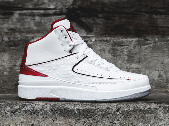 Air Jordan 2 Retro: White   Red | Arriving at Retailers