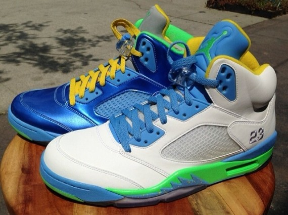 Air Jordan 5: Easter Sample