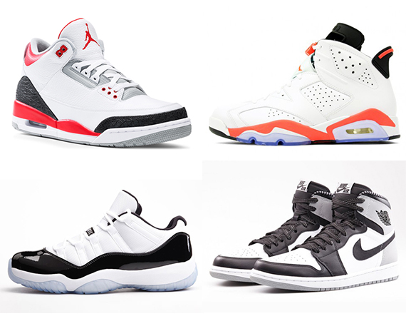 Nikestore Restocks Air Jordan Retros for May 2014