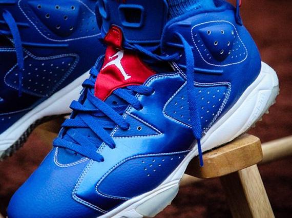 Air Jordan 6: LA Dodgers Juan Uribe Turf PE
