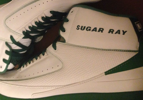 Air Jordan 2: Ray Allen Boston Celtics Home PE