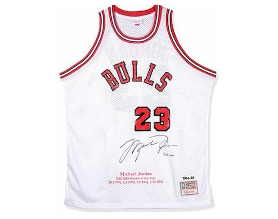Upper Deck Releases 223 Michael Jordan Autographed Rookie Retro Jerseys