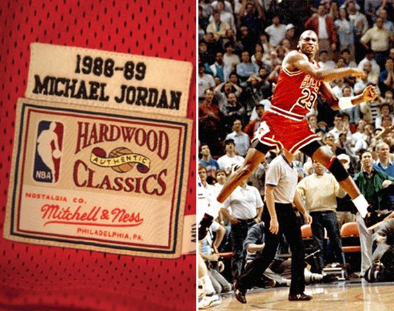 Mitchell & Ness Releases Michael Jordan The Shot Throwback Jersey