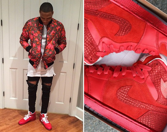 Russell Westbrook Showcases Air Jordan 1 LOTS After Game 4 Win