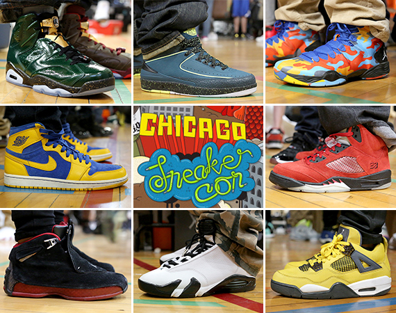 Sneaker Con Chicago May 2014: On Feet Recap Part 2