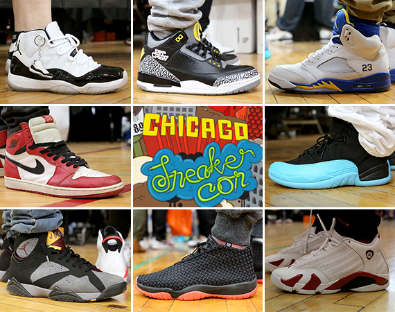 Sneaker Con Chicago May 2014: On Feet Recap Part 1