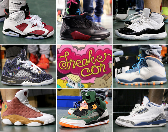 Sneaker Con Miami May 2014: On Feet Recap Part 1