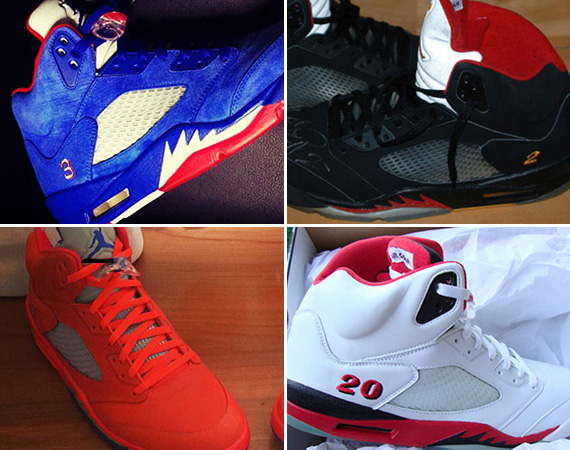 Sneaker News Presents: Air Jordan 5s for NBA Players