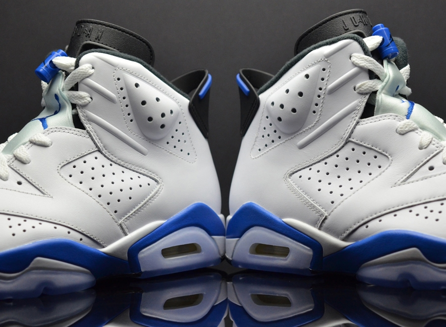 "59f904e783f There are only a few Air Jordan sneakers that have not been retroed, one of  which is the Air Jordan 6 ""Sport Blue"". And considering that the silhouette  is ..."
