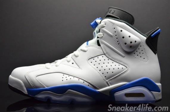 online store b1db9 eeac8 ... coupon code air jordan 6 retro sport blue color white sport blue black  style code 384664