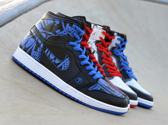 a1f1e30741f777 The Nike SB x Air Jordan 1 collaboration currently rests at two pairs  having released at retail