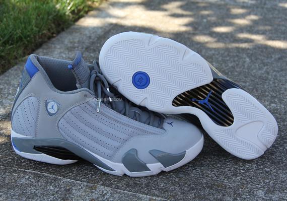 blue jordan 14