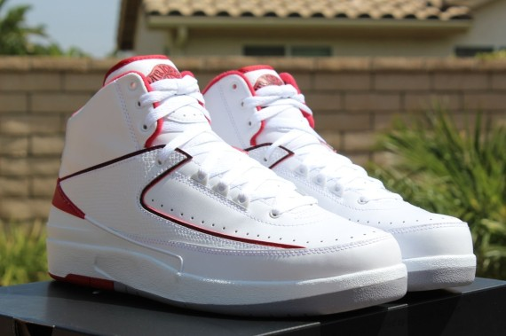 Air Jordan 2 Retro: White   Red   Available Early on eBay