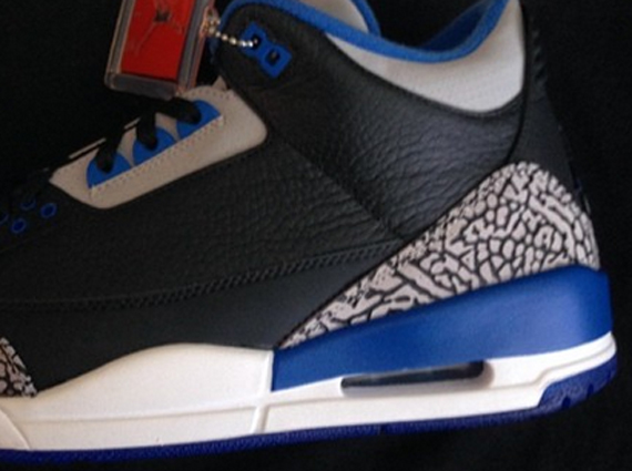 Fat Joe Showcases Air Jordan 3 Retro Sports Blue