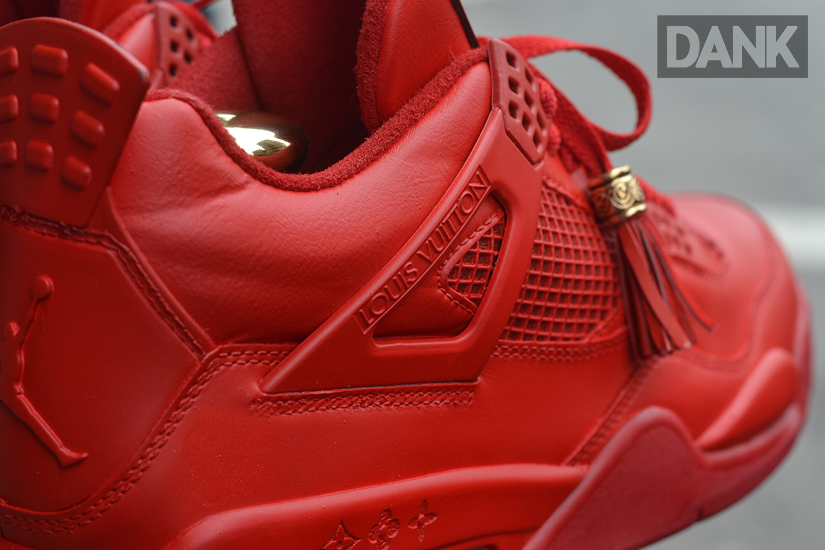 air jordan 4 red louis vuitton don ebay auction