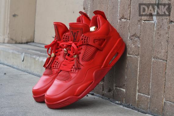 air jordan 4 red louis vuitton don buy