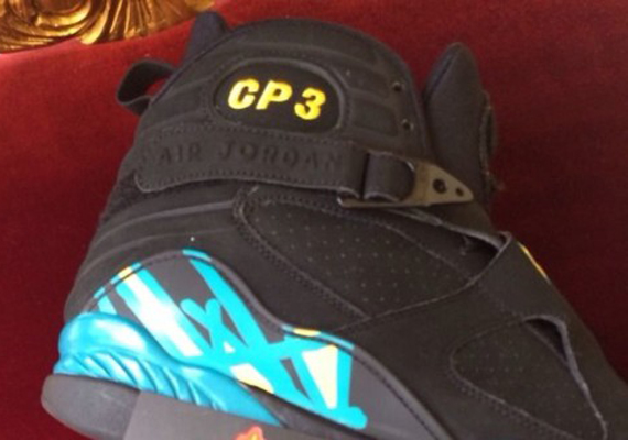 Air Jordan 8: Chris Paul New Orleans Hornets PE   Available on eBay