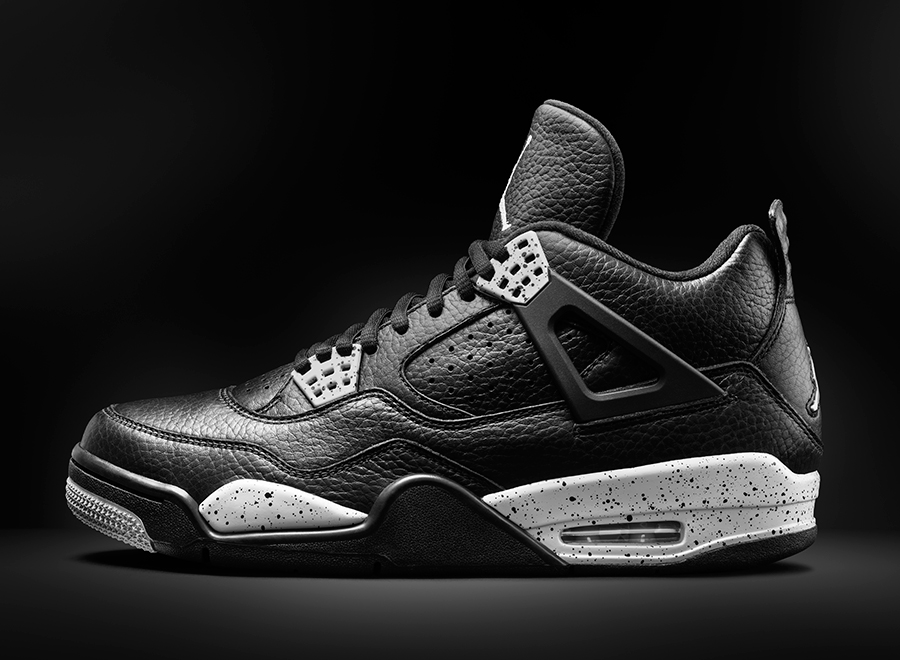 """The last time we saw the almost-forgotten Air Jordan 4 """"Oreo"""" with its  premium leather upper was back in 1999. Crazy to think that the sneaker  hasn t seen a ... 826ff6904"""
