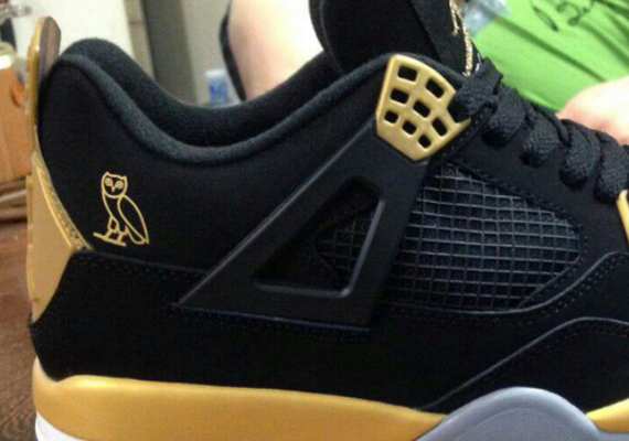 Air Jordan 4: OVO Sample
