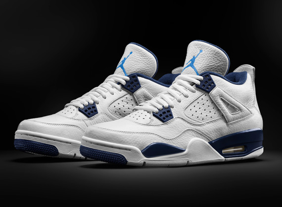 Air Jordan 4 Retro: Columbia   Remastered for Spring 2015