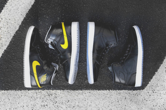 The Air Jordan 1 Mid Returns for July 2014